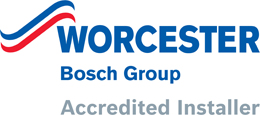 Mere Green Gas and Plumbing is a Worcester Bosch accredited installer.